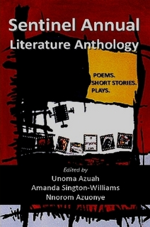 Sentinel Annual Literature Anthology front cover